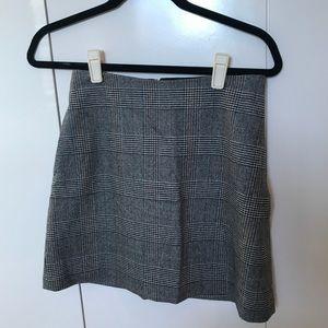 Plaid Mini Skirt